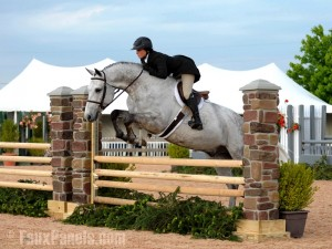Building horse jumps with faux pillars gives them greater mobility.