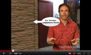 Garage makeover using faux stone paneling with host Matt Blashaw on the DIY Network's Money Hunters