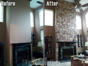 Cladding your fireplace surrounds and chimneys, or adding some wainscoting to your home bar or exterior are amazing ways to create a traditional touch to your home designs.