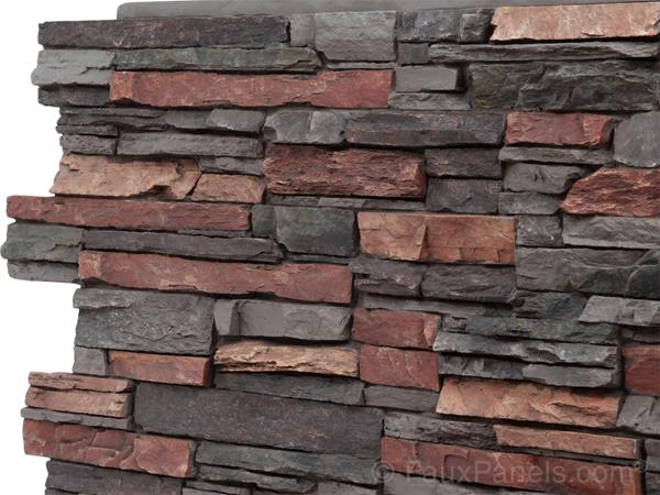 Norwich Colorado Stacked Stone panel