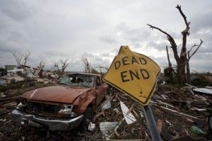 Tornadoes devastate the homes and families of Joplin, MO