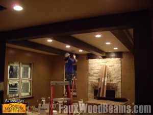 Home remodeling using polyurethane beams lets you cut down on time and manpower in order to save big.