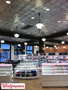 The brand new look of the Walgreens flagship store in San Francisco, California.