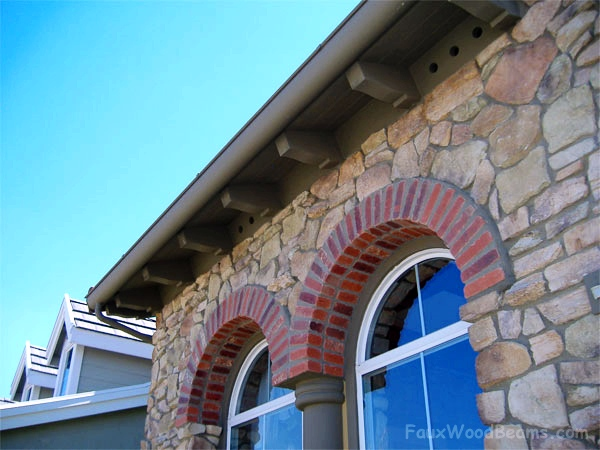Rafter tail designs add class to your home's exterior.