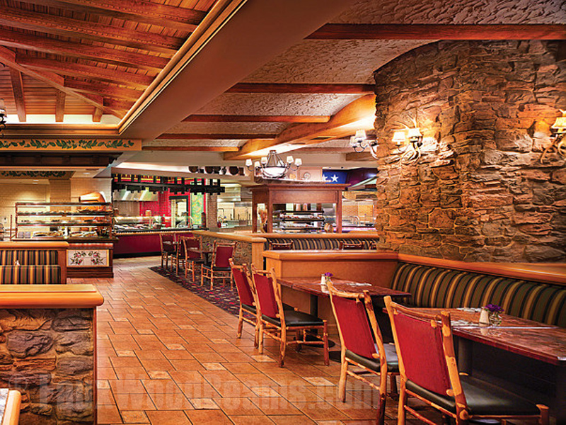 Faux timber beams installed at the Centennial Buffet at Ameristar Casino, Blackhawk CO