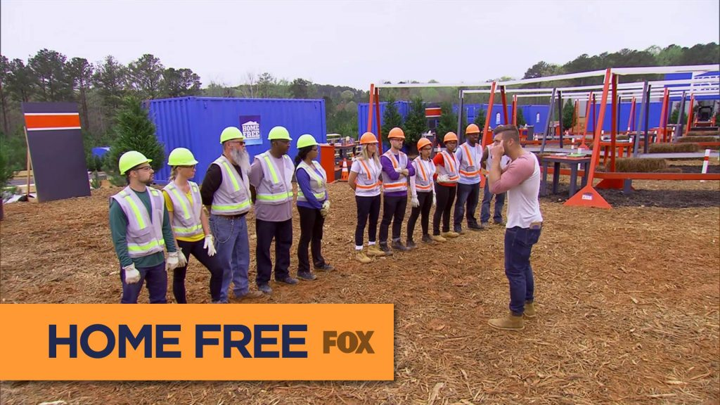 9 couples compete to fix up an old home.