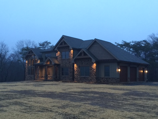 Stunning custom home build in Harrisburg, PA by Roland Builders Inc.