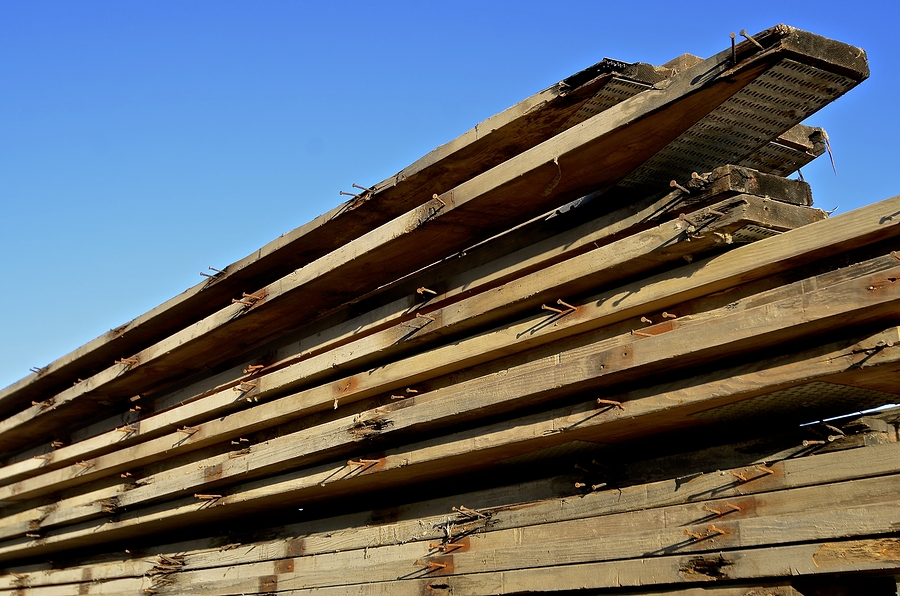 Reclaimed wood can be a source of allergens.